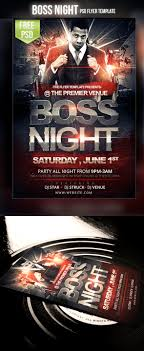 flyer templates for photoshop and word the grid system boss night flyer