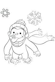 Printable Curious George Coloring Pages Free Curious Coloring Pages