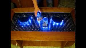 Interactive Coffee Table Reactive Led Coffee Table Arduino Youtube