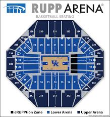 Expert Arena Diagram Seating Chart At Rupp Arena Knicks
