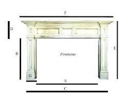standard fireplace mantel height standard mantel height standard mantel height interesting standard fireplace fireplace dimensions standard