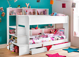 bunk beds for girls with storage. Interesting With Bunk Beds With Storage Lydia  White  Dreams Cytqucx Throughout Bunk Beds For Girls With Storage E