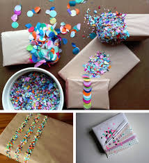 diy confetti new years gift wrap best friends for frosting with diy gifts for friends
