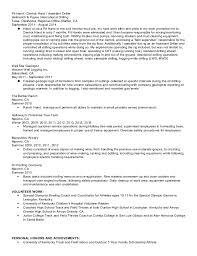 Ranch Hand Resume Professional Resume Templates