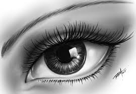 eyes drawings realistic eye drawing by ram full image