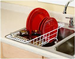 3 advantages of having dish drying rack. ClosetMaid 3921 Over The Sink Drainer, White Review 3 Advantages Of Having Dish Drying Rack