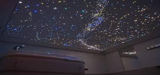 Led Star Ceiling Lights Star Ceiling Bathroom With Fiber Optic And Led Light