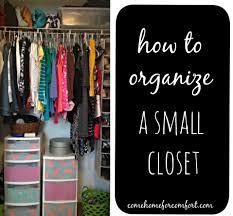 How To Organize Your Closet  Come Home For Comfort - Organize bedroom closet