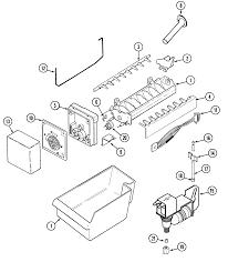 Maytag model mtb2456aew top mount refrigerator genuine parts rh searspartsdirect u line refrigerator parts diagram