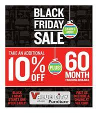 Value City Black Friday 2017