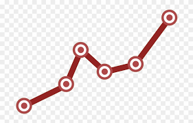 Line Graph Icon Chain Hd Png Download 1000x1000 451327
