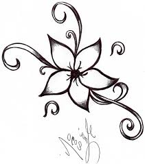 Small Picture cool and easy flowers to draw cool simple flower designs to draw