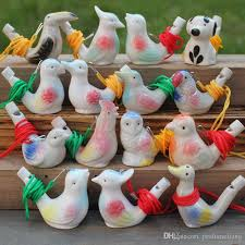 creative water bird whistle clay bird ceramic glazed song chirps kids toys party gift za4340 best unusual gifts best weird gifts from perfumeliang