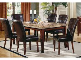 marble top dining room table. Montibello 5 Piece Dining Set Marble Top Room Table R