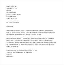 business complaint letter templates sample example sample business complaint letter