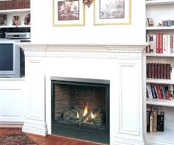 faux fireplace rock