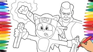 Cat coloring book for children | how to draw cat coloring pages help me reach 10000 subscribers: Sonic The Hedgehog Movie Drawing Sonic And Dr Robotnik Movie Scene Sonic Coloring Pages Youtube