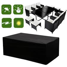 details about round square garden benches patio set furniture cover s m xl waterproof outdoor