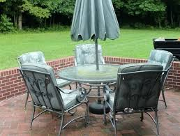 diy small patio table charming small patio table with umbrella hole small round patio table with