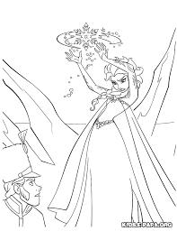 Frozen Kasteel Kleurplaat Malvorlage Prinzessin Im Garten Ausmalbild