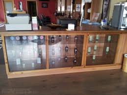glass display cabinets counter and reception desk for in photo details these image we