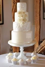 4 Tier Iced Wedding Cake Stock Crondon Park 21st June 2018