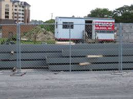 fence construction. construction temporary fence panels