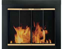 pleasant hearth arrington fireplace door