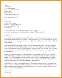 Cover Letter For Quality Control Position Cover Letter Accounting