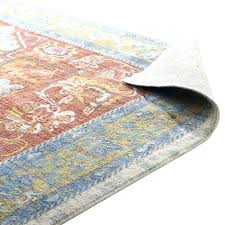 orange and blue area rug orange and blue rug ponce distressed oriental orange blue area rug