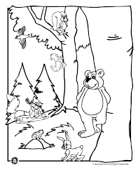 Forest Animal Coloring Page Forest Animals Coloring Book Forest Animal Coloring Pages Animal Jr