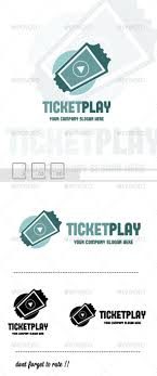 Play Ticket Template Coupon Logo Templates From Graphicriver Page 2