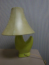 vintage mid century modern ceramic glazed green table lamp antique lamp enchanting mid century modern