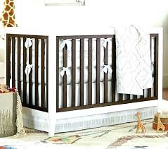 two toned cribs young baby tone crib 2 jewel nursery bedding canada