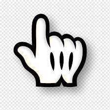 Beyaz eldiven illüstrasyon, mickey mouse epic mickey bilgisayar fare  işaretçisi Macintosh, fare imleci, aşk, çeşitli, metin png