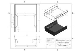 Tundra Bed Size Chart Tacoma Bed Specs And Dimensions Tacoma World