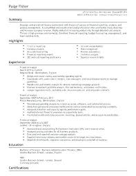Financial Analyst Resume Template Financial Analyst Template