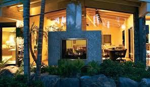 indoor outdoor wood burning fireplace indoor outdoor