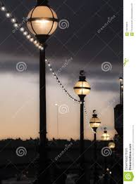 Old Fashioned Street Lights Street Lights At Night Old Fashioned Style Street Lamps