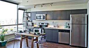 Gray And White Kitchen Cabinets Keep The Palette Neutral To Let The  Materials Stand Out Light . Gray And White Kitchen Cabinets ...