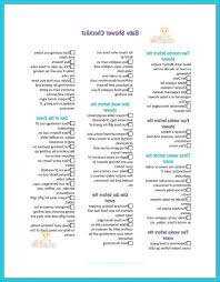 Baby Shower Best Baby Shower Check List Best Of Shower Themes