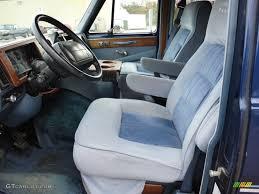 Blue Interior 1995 Chevrolet Chevy Van G20 Passenger Conversion ...