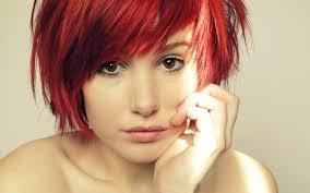 デスクトップ壁紙 面 女性 赤毛 モデル ポートレート 長い髪