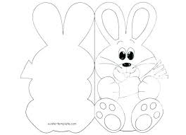 Easy Easter Bunny Coloring Pages Lifewiththepepperscom