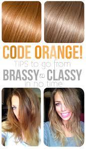Shimmer Lights Orange Hair Stay Classy Maskcara