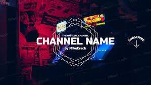 Channel Art Template Youtube Banner Template To Make Youtube Channel Art A174