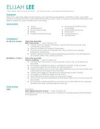 Sample Resume Of Data Entry Clerk Create My Resume Free Sample