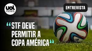 No STF, ministros abrem sessão com votos para manter a Copa América - 10/06/ 2021 - UOL Esporte