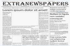 Old West Newspaper Template Wonderful Free Templates To Create Newspapers For Your Class