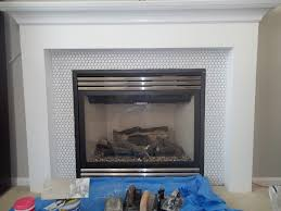 Tile Fireplace Makeover Fireplace Rag And Remnant